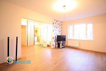 Ремонт жилой зоны в студии 35 кв.м., фото-1