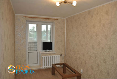 Косметический ремонт гостиной в двухкомнатной квартире 43 кв. м.