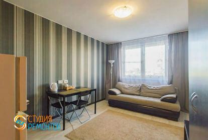 Косметический ремонт комнаты-студии в однокомнатной квартире 20 кв. м., фото-1