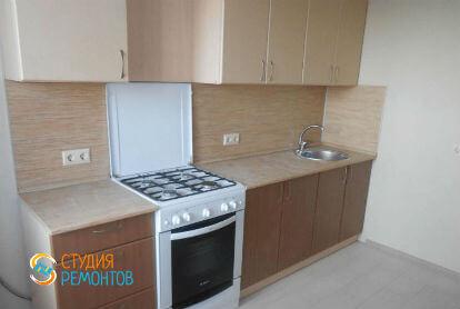 Косметический ремонт кухни в двухкомнатной квартире 43 кв. м.