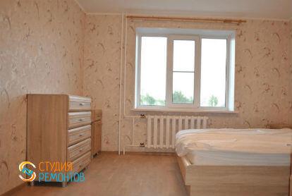 Косметический ремонт спальни в двухкомнатной квартире 43 кв. м.