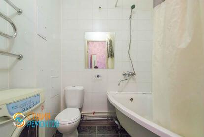 Косметический ремонт ванной в однокомнатной квартире 20 кв. м.