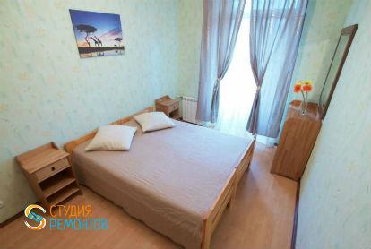Косметический ремонт спальни в двухкомнатной новостройке 42 кв.м.