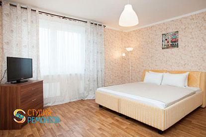 Косметический ремонт спальни 16 кв.м.