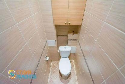 Косметический ремонт туалета 1,6 кв.м.