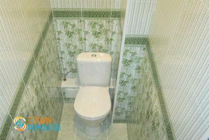 Косметический ремонт туалета 1,7 кв.м.