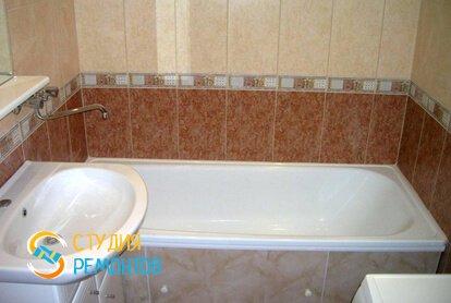 Косметический ремонт ванной 5,5 кв.м.