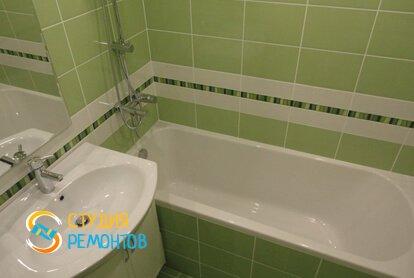 Косметический ремонт ванной 5 кв.м.