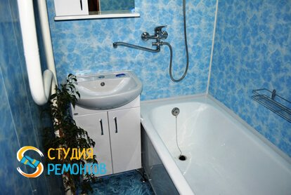 Косметический ремонт ванной 6 м2