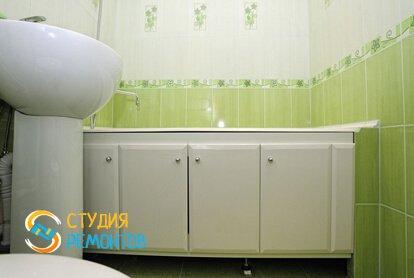 Косметический ремонт ванной комнаты 5,5 кв.м.
