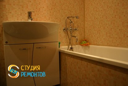 Косметический ремонт ванной комнаты 6 кв.м.