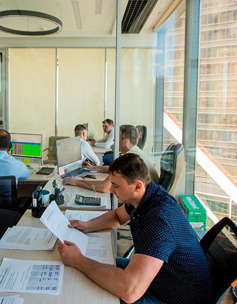 Офис компании Студия Ремонтов