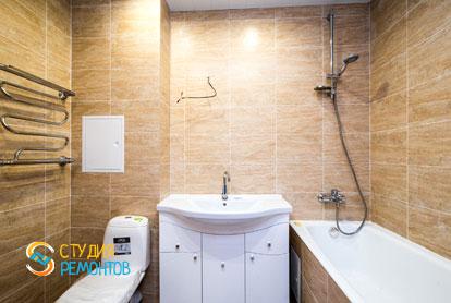 Косметический ремонт санузла в однокомнатной  квартире 37 кв.м.