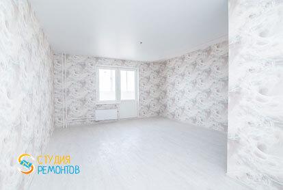 Косметический ремонт спальни в однокомнатной  квартире 37 кв.м. фото-1