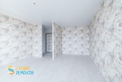 Косметический ремонт спальни в однокомнатной  квартире 37 кв.м. фото-2