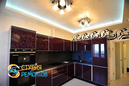 Евроремонт кухни в двухкомнатной квартире 50 кв.м.