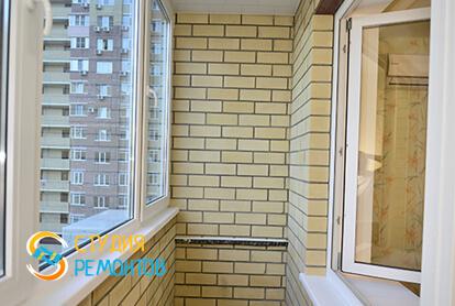 Капитальный ремонт балкона в 2-х комнатной квартире 60,8 кв.м. фото-1