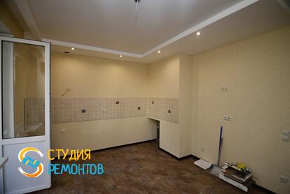 Капитальный ремонт кухни в 2-х комнатной квартире 60,8 кв.м. фото-4