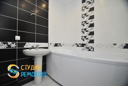 Капитальный ремонт ванной в 2-х комнатной квартире 60,8 кв.м. фото-2