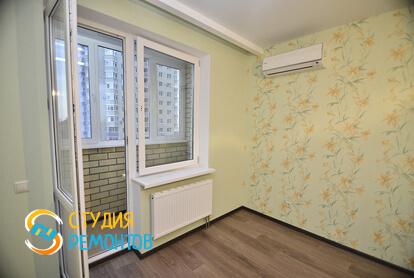 Капитальный ремонт жилой комнаты в 2-х комнатной квартире 60,8 кв.м. фото-1