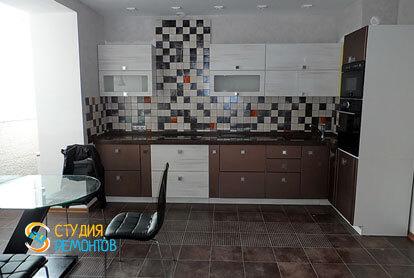 Евроремонт кухни в трехкомнатной квартире 62,4 кв.м.