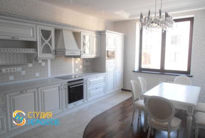 Евроремонт кухни в трехкомнатной квартире 76 кв.м.