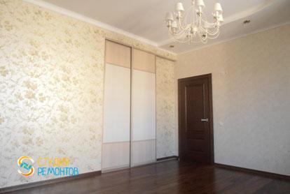 Евроремонт спальни в трехкомнатной квартире 76 кв.м.