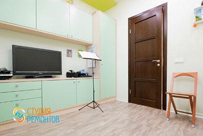 Евроремонт детской в четырехкомнатной квартире 86 кв.м.