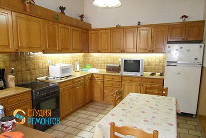 Капитальный ремонт кухни в 4-х комнатной квартире 61 кв.м.