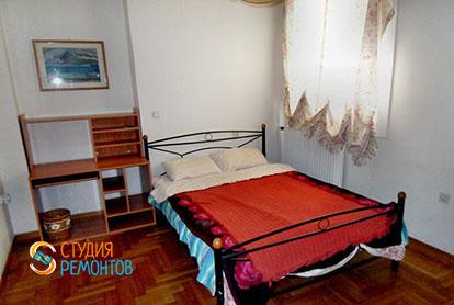 Капитальный ремонт спальни в 4-х комнатной квартире 61 кв.м.