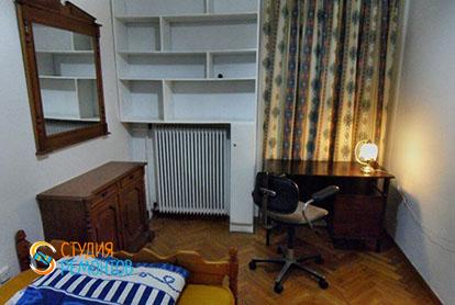 Капитальный ремонт жилой комнаты в 4-х комнатной квартире 61 кв.м.
