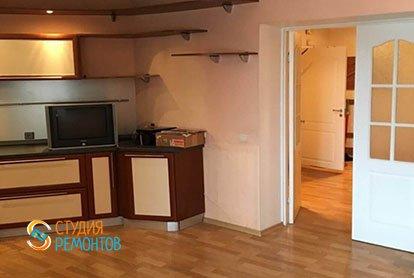Капремонт кухни в 4-х комнатной квартире 87 м2