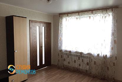 Капремонт жилой комнаты в 4-х комнатной квартире 87 м2