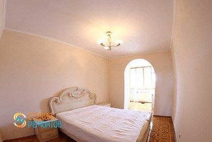 Евроремонт спальной комнаты в 5-комнатной квартире 103 кв.м.