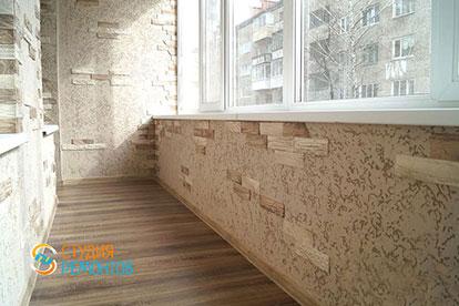 Отделка балкона с утеплением 4,5 кв.м.