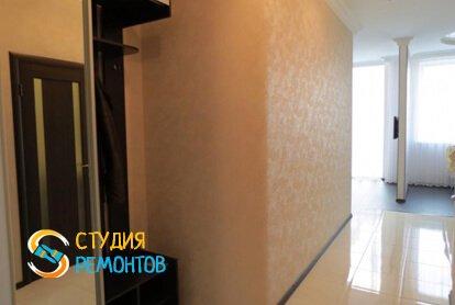 Чистовая отделка коридора в студии 32,5 кв.м.