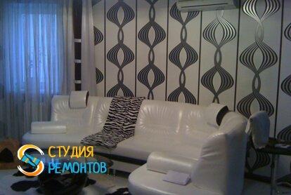 Отделка комнаты в квартире студии 51 кв.м. фото 1