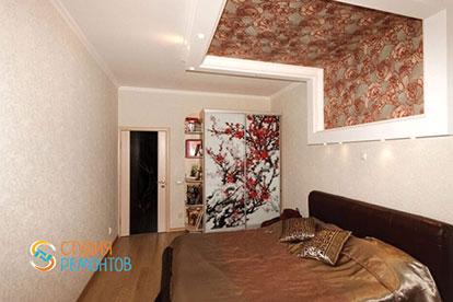 Отделка спальни 16 кв.м.