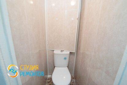 Отделка туалета панелями 1,6 кв.м.