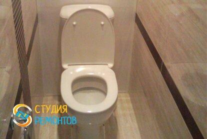 Отделка туалета панелями 2 кв.м.