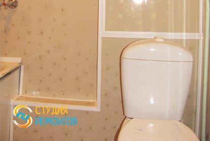 Отделка туалета панелями 5,5 кв.м.