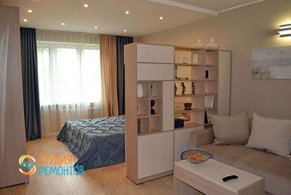 Пример капитального ремонта комнаты в 1-к квартире 32 кв.м.