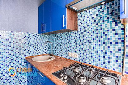 Пример капитального ремонта кухни в 1-к квартире 32 кв.м., фото-1