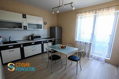 Пример капремонта кухни в однокомнатной квартире 34 м2