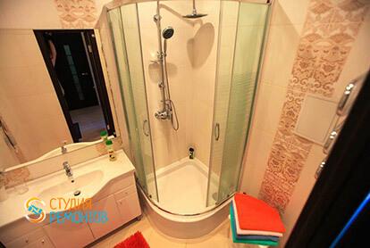 Пример капремонта санузла в однокомнатной квартире 34 м2