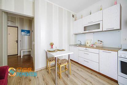 Пример ремонта кухни в однокомнатной квартире 36 м2
