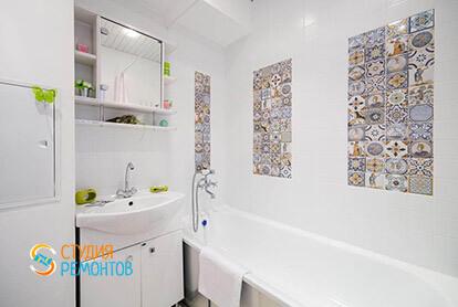 Пример ремонта санузла в однокомнатной квартире 36 м2