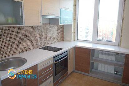 Капитальный ремонт кухни в двухкомнатной квартире 50 кв.м.