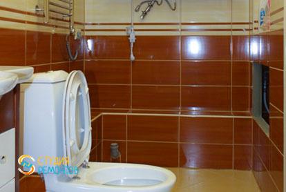 Капитальный ремонт санузла в двухкомнатной квартире 50 кв.м. фото-1