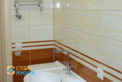 Капитальный ремонт санузла в двухкомнатной квартире 50 кв.м. фото-2